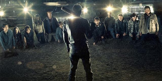 The Walking Dead: A Look At Amazing Makeup For Negan's Victim - screenrant.com