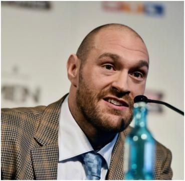 British heavyweight boxer: Tyson Fury