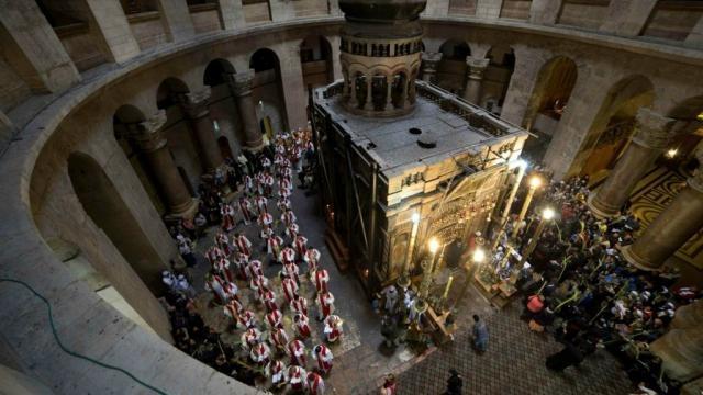 Tomb of Jesus set for restoration work after Easter | The Times of ... - timesofisrael.com