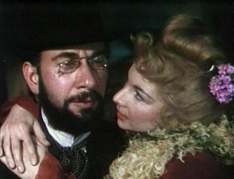José Ferrer (Toulouse-Lautrec) y Colette Marchand (Marie Charlet) en