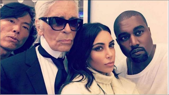 Karl Lagerfeld ledert gegen Kim Kardashian | Sie ist selber schuld ... - bild.de