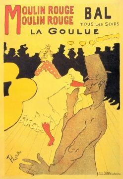 'La Goulue' ('La Glotona' y 'el deshuesado')
