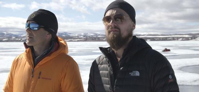 Leonardo DiCaprio in una scena del documentario - newscinema.it