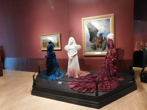 Gowns worn on the movie Crimson Peak(Directed by Guillermo Del Toro) (photo credit: Odette Perez)