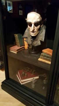 The famous Nosferatu on display (photo credit: Odette Perez)