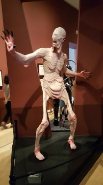The Pale Man from the movie Pan's Labyrinth (photo credit: Odette Perez)