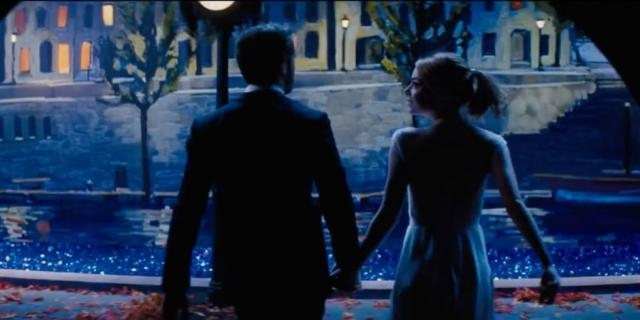 Emma Stone and Ryan Gosling in 'La La Land' Trailer - elle.com