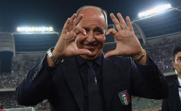 Il ct della Nazionale Italiana Giampiero Ventura
