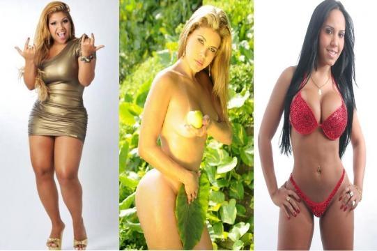 Mulher Filé, Mulher Maçã e Mulher Melão.