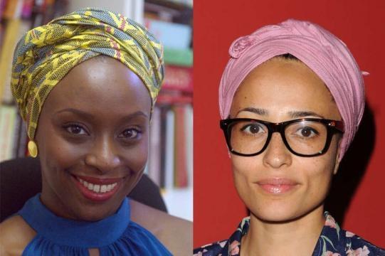The New York Magazine, Adichie and Smith.