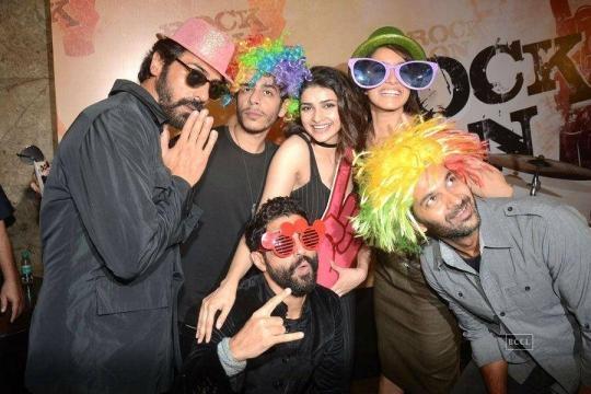 Bollywood actors Arjun Rampal, Shashank Arora, Prachi Desai ... - indiatimes.com