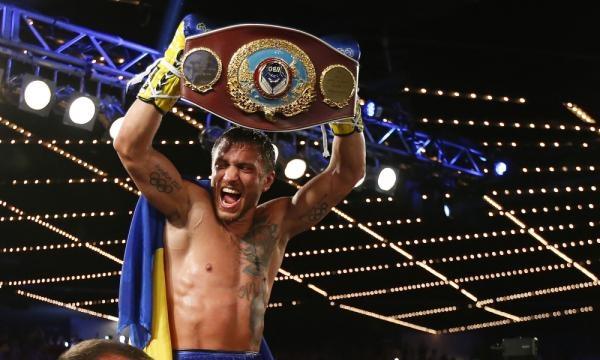Vasyl Lomachenko wins super featherweight / Photo by Rich Schultz, Blasting News library