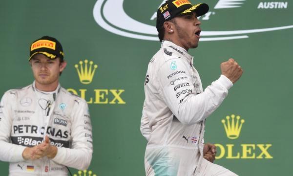 Lewis Hamilton and Nico Rosberg share hilariously awkward moment ... - usatoday.com