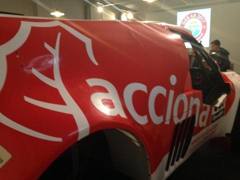 El detalles del coche Acciona que competió en el Dakar 2016
