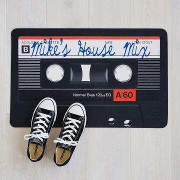 5 Music Doormat - http://www.uncommongoods.com/