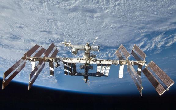La Station Spatiale Internationale dans laquelle séjournera Thomas Pesquet