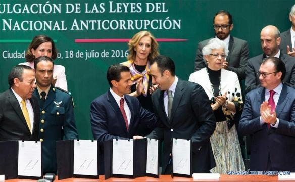 Presidente de México promulga leyes para Sistema Nacional ... - cctv.com