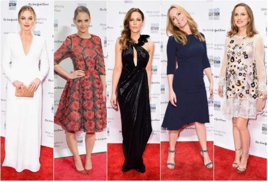 Margot Robbie o Natalie Portman fueron algunas de las asistentes a la gala