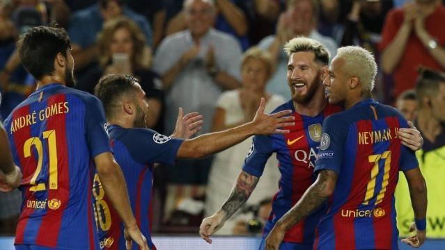 Champions: Con Messi, Suárez y Neymar es otra cosa: 7-0 al Celtic ... - as.com
