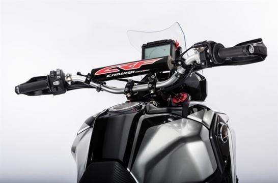 Enduro Sport: painel de instrumentos do protótipo é digital