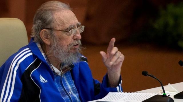 Fidel Castros Rede beim Kongress