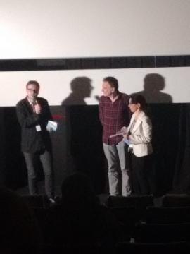 Pierre León contestó amablemente las preguntas del auditorio