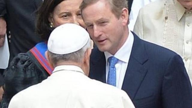 Enda Kenny hopes Pope Francis will visit Northern Ireland - BBC News - bbc.co.uk