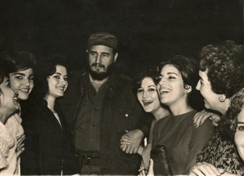 La enigmática esposa que acompañó a Fidel Castro hasta su final ... - las2orillas.co