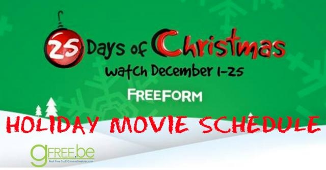 25 Days of Christmas: Watch All Your Favorite Holiday Movies {Full ... - gimmiefreebies.com