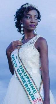 1 ere Dauphine Miss Cameroun Audrey Aboula