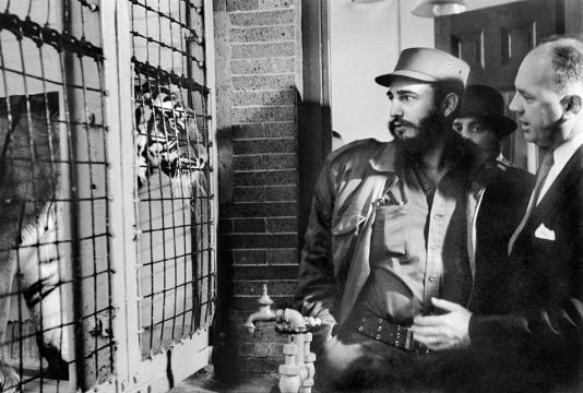 Fidel Castro at the Bronx Zoo | PDN Photo of the Day - pdnonline.com