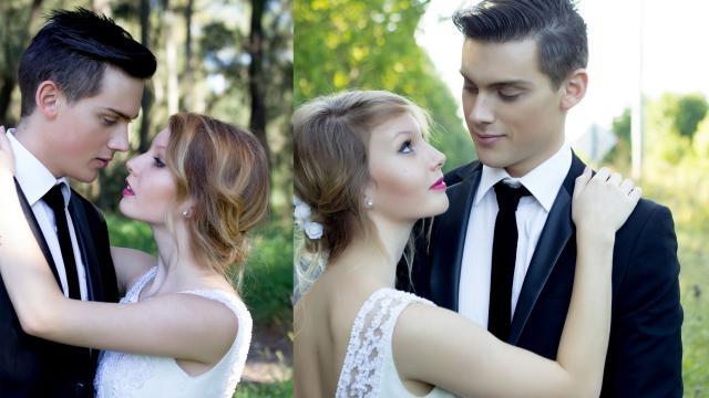 Photos de la série Tia & Mark Wedding, dont une photo a été utilisée par un forum catholique (Matthew Jake Kane)