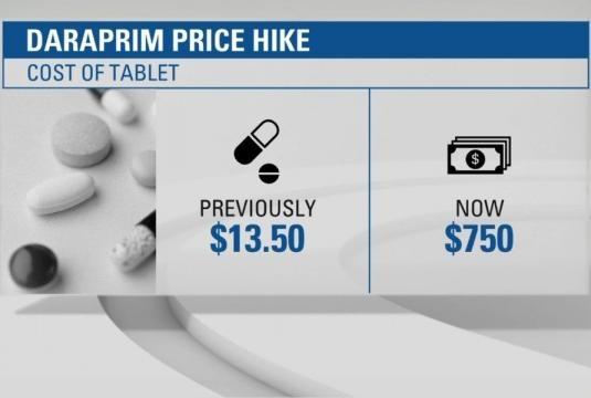 Hated' CEO lowering price of $750 AIDS drug Daraprim | Q13 FOX News - q13fox.com