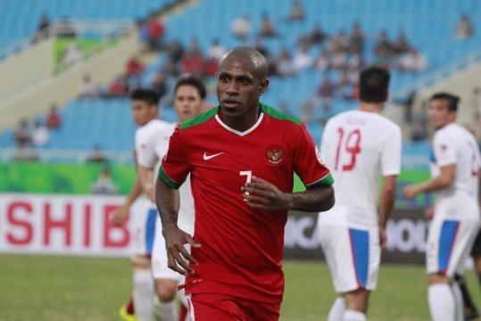 Indonesia's Captain Boaz Solossa