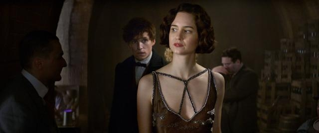 Katherine Waterston as TIna in Fantastic Beasts and Where to FInd Them