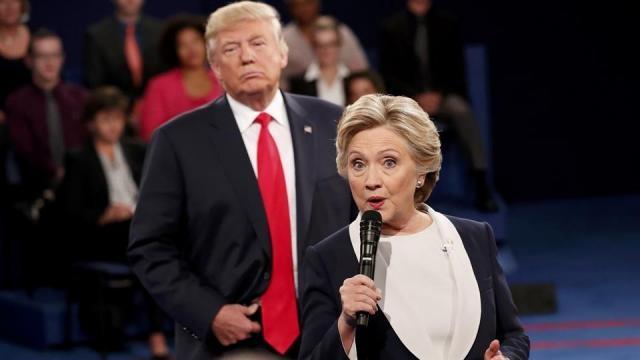 Hillary Clinton-Donald Trump, contienda electoral