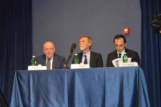 Il tavolo tecnico con Oliverio, Delrio e Armani