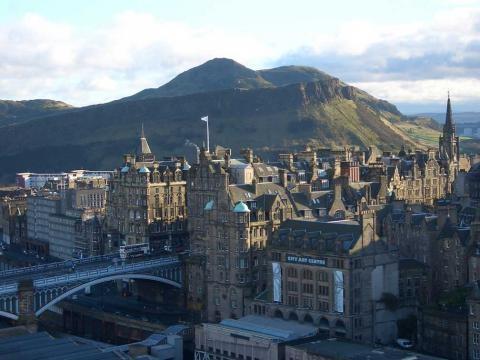 Google Map of the City of Edinburgh, Scotland, UK - Nations Online ... - nationsonline.org