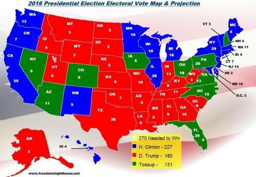 Elecciones Estados Unidos 2016 Proyecciones: Hillary Clinton Tiene ... - latinospost.com