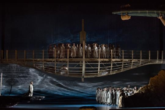 A scene from Rossini's 'Guillaume Tell.' Photo: Marty Sohl, courtesy of Metropolitan Opera, used with permission.