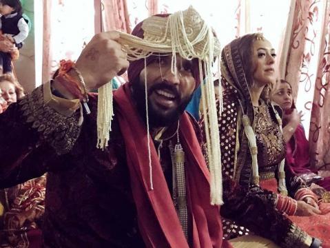 Yuvraj Singh - Hazel Keech marriage reception (Toutube screengrab)