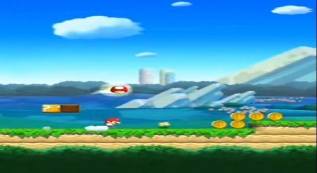 Primer nivel de Súper Mario Run
