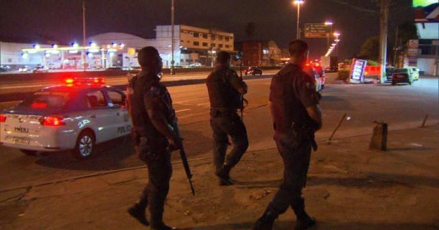 Mesmo estando em equipe as Policias ainda são alvos dos criminosos.