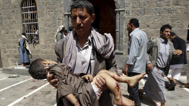 Scores killed in suicide attacks on Yemen mosques - Al Jazeera English - aljazeera.com