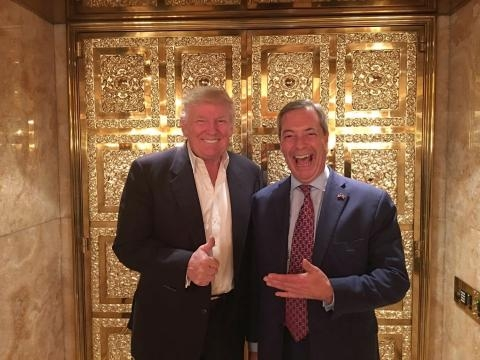 How did Nigel Farage help Donald Trump in the US Presidential ... - thesun.co.uk