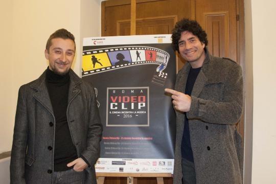 Il regista Toni Trupia e il musicista Piero Salvatori