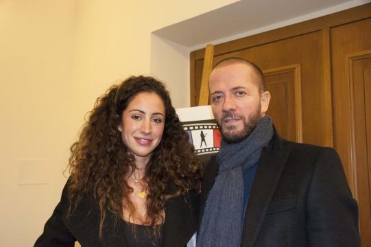Raf insieme con la figlia Bianca Riefoli