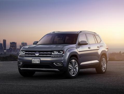 Atlas é o maior veículo fabricado pela Volkswagen nos Estados Unidos