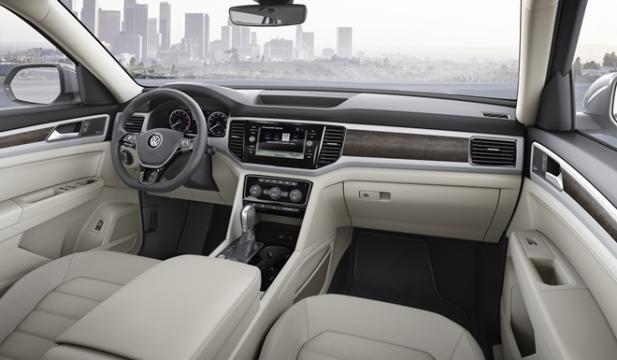 Interior do novo SUV da Volkswagen