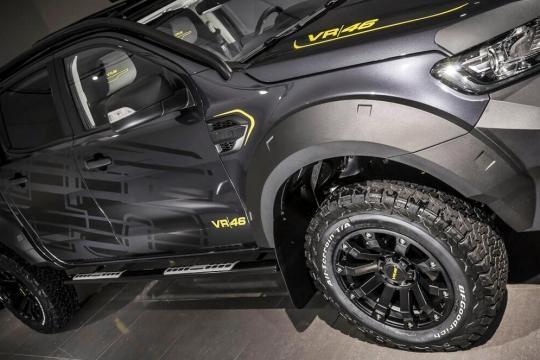 Novas rodas, pneus e estribo da Ranger VR46